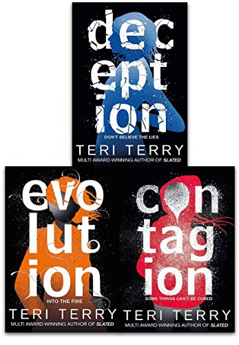Dark Matter Trilogy 3 Books Collection Set by Teri Terry - Contagion, Deception, Evolution