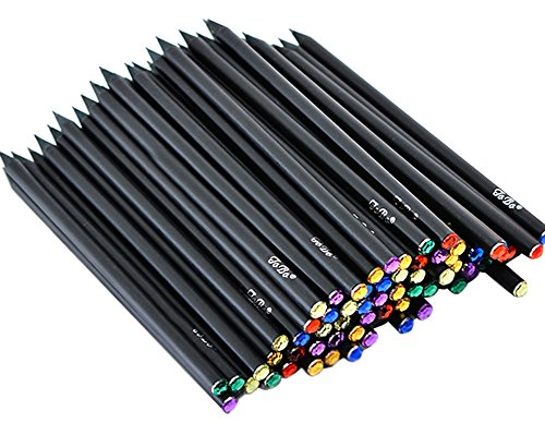 Blue Vesse Schwarz Holz Bleistift Geschenk Kinder Bleistift Büro schreiben Kinder Bleistift