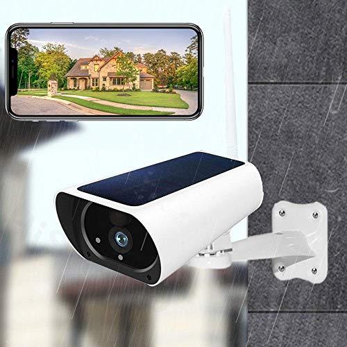 AINSS 1080p Solar Powered Camera 4g LTE Camera Solar Outdoor 1080p HD Wireless 3g Sim Scheda Camera CCTV Sorveglianza di Sicurezza Batteria Ricaricabile Integrata WiFi Version with Battery No Card