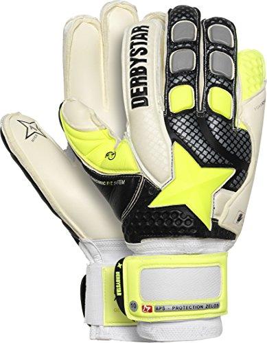 Derbystar APS Protection Zelos, 10,5, weiß schwarz gelb, 2669105000