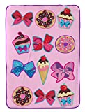Nickelodeon JoJo Siwa Follow Your Dreams Plush Twin Blanket