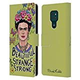 Head Case Designs sous Licence Officielle Frida Kahlo Belle Femme Art Et Citations Coque en Cuir à...