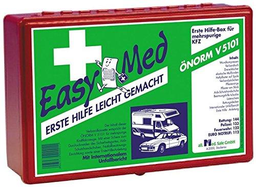 ERSTE HILFE AUTOAPOTHEKEN EASYMED OENORM V5101