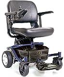 LITERIDER Envy GP162 Electric Travel Powerchair Golden Technologies (Blue)