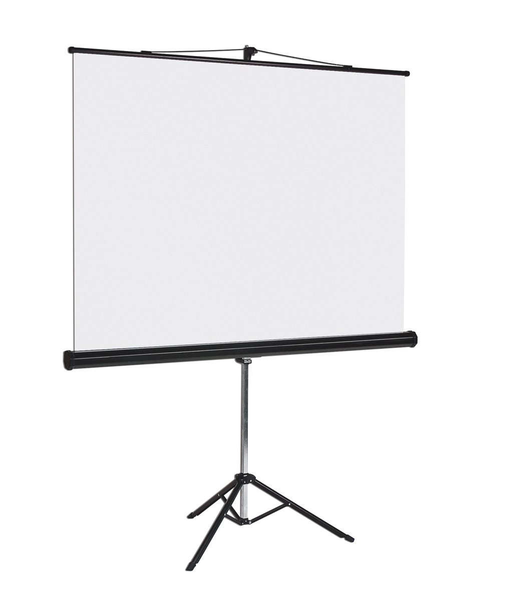 Bi-Office - Pantalla de proyección con trípode, 1250 x 1250 mm ...