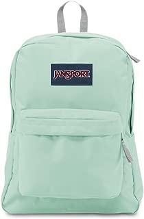 mint color backpack