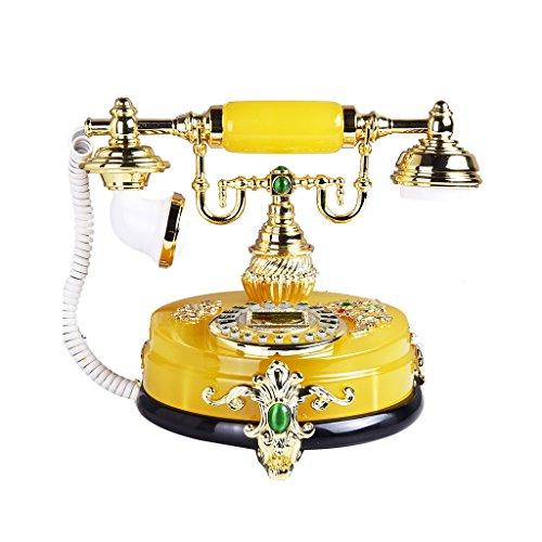 LIYONG - Teléfono Fijo para casa, diseño Retro