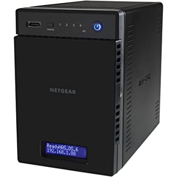 NETGEAR NAS ディスクレス 4ベイ スマホ/タブレット対応 アンチウィルス クラウド対応 ReadyNAS 214  RN214