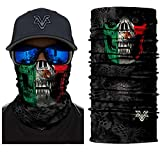 Vcoros Monster Skull Bandana Face Mask For Riding Motorcycle Racing Hunting Skiing Snowboarding Fishing Winter Warm Neckerchief Men Women outdoor sport Scraf (PL180420)