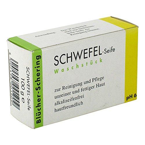 SCHWEFEL SEIFE Blücher Schering 100 g
