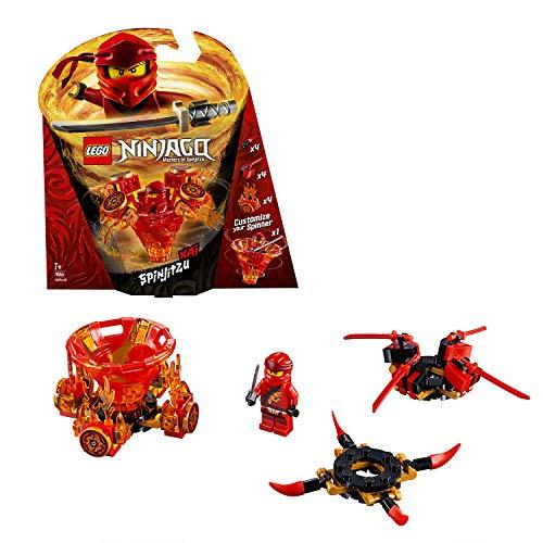 LEGO Ninjago - Spinjitzu Kai, peonza roja divertida de ninja de juguete (70659) , color/modelo surtido
