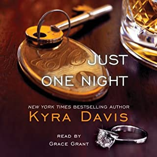 Just One Night audiobook cover art