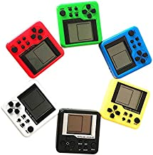 SODIAL Random Color Consoles Retro Mini 3D Puzzle Kids Russian Box Game Console Portable LCD Players Educational Electronic Toys