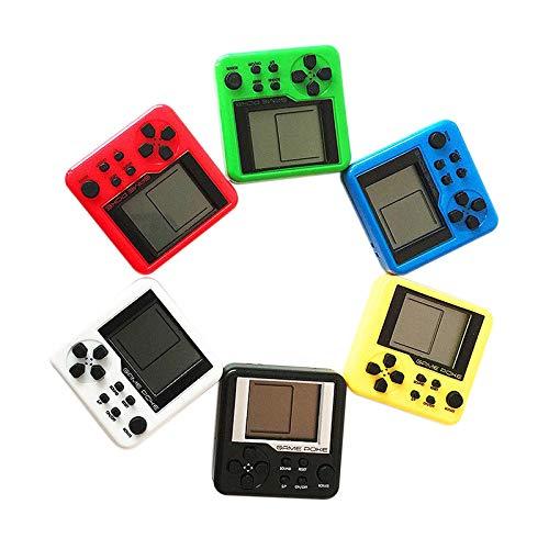 ACAMPTAR Color Aleatorio Consolas 3D Puzzle Juguetes Consola de Juegos de Tetris para Ni?os