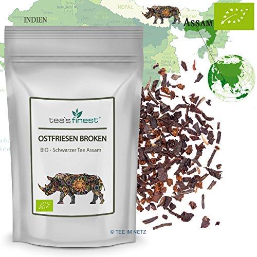 Schwarzer Tee - Assam Ostfriesen Broken Tee - BIO (100 Gramm)