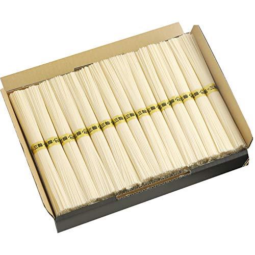 三輪そうめん 白髭 細麺 1.5kg (30束) 家庭用 約20人分 KB-1.5K