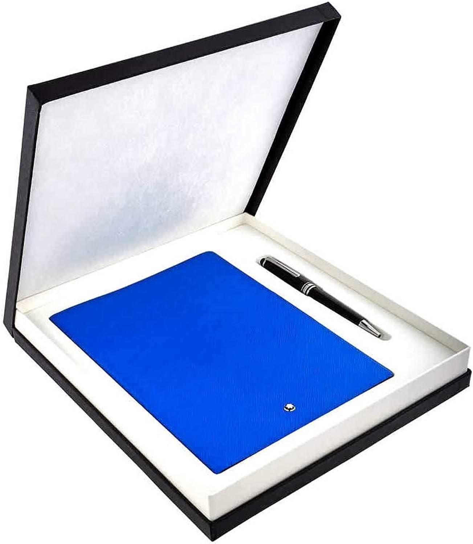 Set mit Meisterstueck Classique Kugelschreiber & Notizbuch  146 Electric Blau B07JLRR6LZ | Üppiges Design