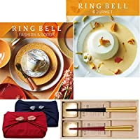 CONCENT・リンベル RING BELL カタログギフト マゼラン&アイリス+箔一金箔箸セット