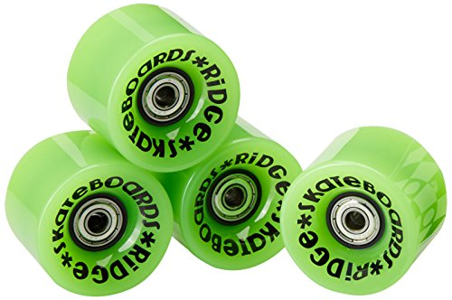 Ridge Skateboard Rollen Cruiser, green, 59 mm, r-logo-cw