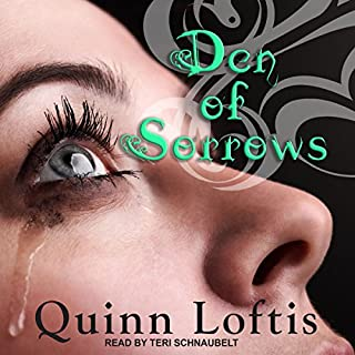 Den of Sorrows audiobook cover art
