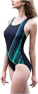 水着レディース、プロスポーツトレーニングワンピース水着 (サイズ さいず : M)