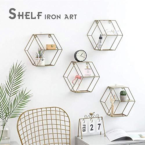 Diafrican - Estantería de Pared Hexagonal