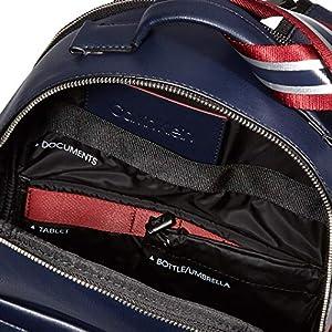 51lv2d8kKPL. SS300  - Calvin Klein Flex 2g Round Backpack - Shoppers y bolsos de hombro Hombre