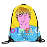 YuYfashions Men Women Brave Paulo Dimelo LON-dra Gym Drawstring Drawstring Backpacks Shoulder Bags Sport Sack Backpack for Home Travel Exercise Beam Mouth Package A3834 Mochila con Lazo