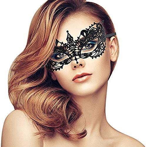 NaiCasy Las Mujeres Atan la máscara de la máscara de Venecia Traje Atractivo Mascara de Carnaval, Carnaval de Venecia Un pequeño Consejo, Ornamentos de la Novedad