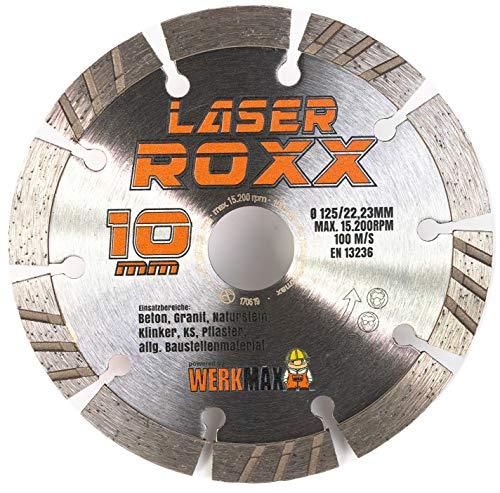 Neuentwicklung: Laser ROXX Diamantscheibe 125 mm   universal