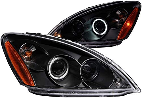 Anzo USA 121102 Mitsubishi Lancer Projector with Halo Black Headlight Assembly - (Sold in Pairs)