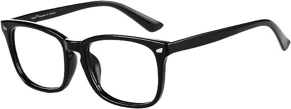 Cyxus Blue Light Blocking Glasses Square Computer Eyewear Clear Lens Eyeglasses Frame