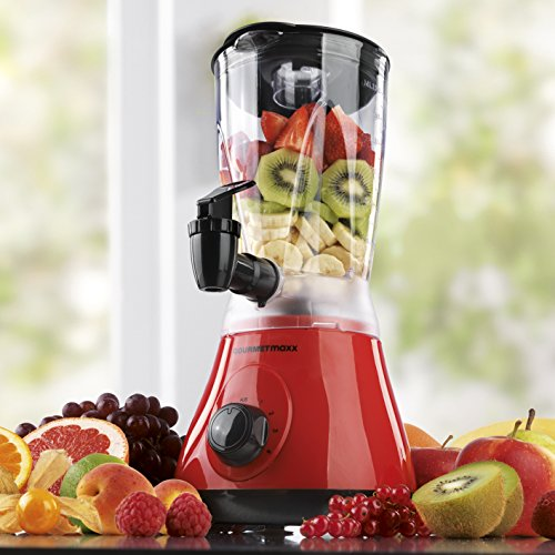 GOURMETmaxx 00762 Power Mixer 2 in 1 | 400W | Rosso