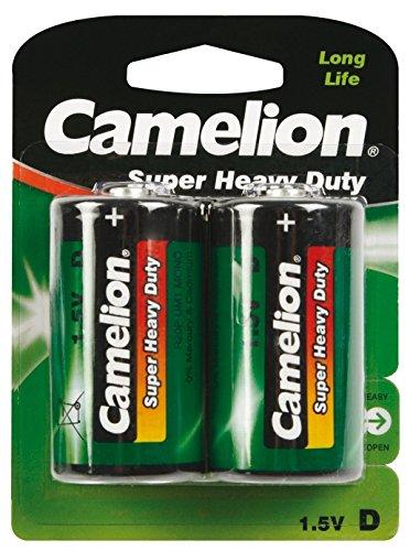 Camelion 10000220 Super Heavy Duty Batterien R20/ Mono/ 2er Pack