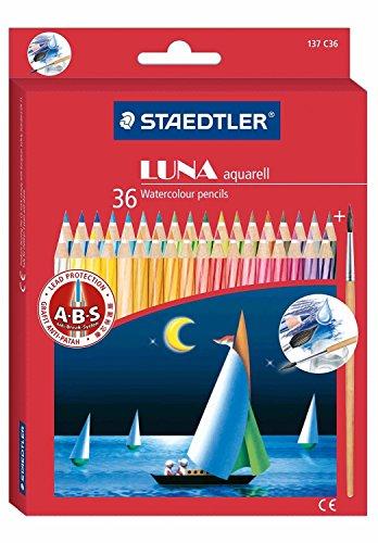 36 color set SD137C36 Staedtler Luna watercolor pencil (japan import)