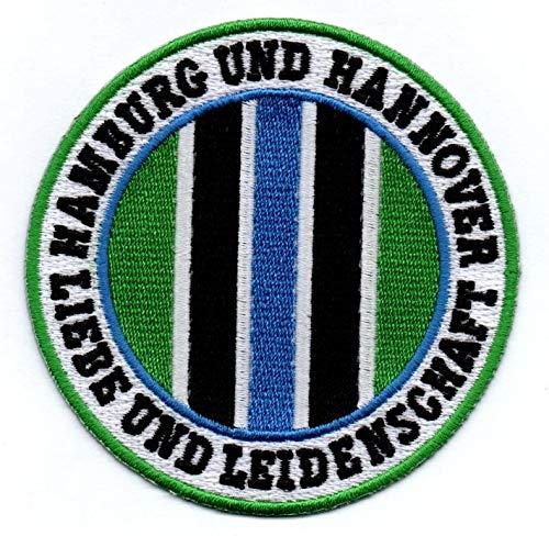 Hamburg & Hannover Aufnäher/Bügelbild / Stickbild/Abzeichen / Iron on Patch