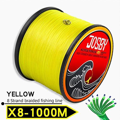 300 M 500 M 1000 M 8 Strengen 10-78LB Nieuwe PE Gevlochten Visdraad Multifilament Super Sterke Vislijn Japan Multicolour