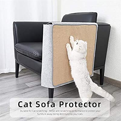 Chowaway Sofa Protector Cover Anti-scratch Pet Couch Protector Cat Scratch Guard Mat for Furniture Protection from Chowaway
