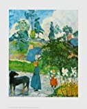 Paul Gauguin Landschaft in der Bretagne Poster Bild