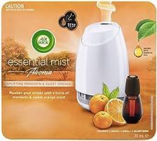 Air Wick Essential Mist Uplifting Mandarin and Sweet Orange 20mL, 307 grams