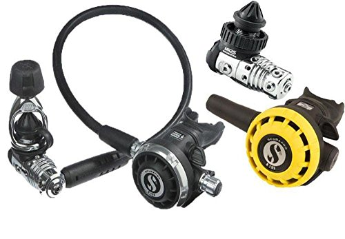 SCUBAPRO - Regulador mk25 evo/g260/ r195 octopus pack din300, color negro