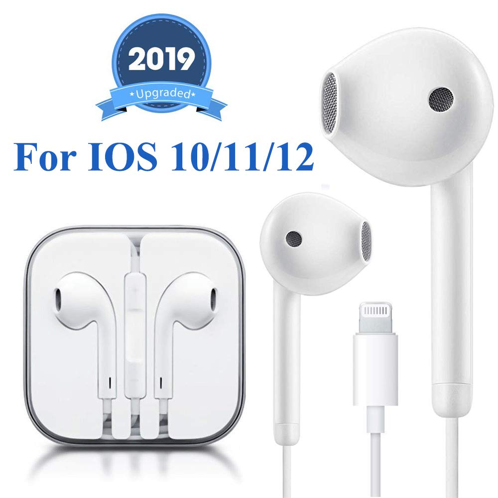 Earbuds Headphone Wired Earphones Headset With Microphone And Volume Control Compatible With Iphone Xs Xs Max Xr X 8 8 Plus 7 7 Plus Plug And Play Buy Online In India Missing Category Value Products In India
