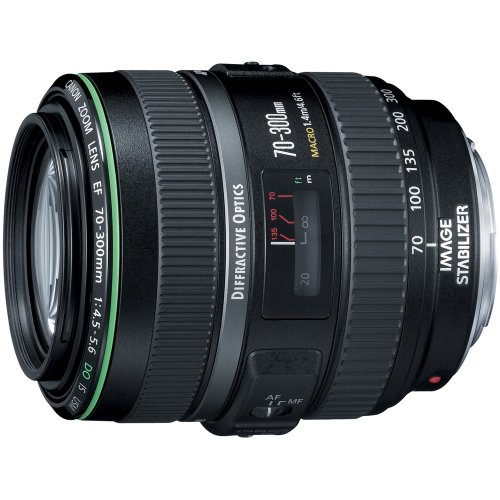 Canon EF 70-300mm f/4.5-5.6 DO is USM Black - Kameraobjektive (1,4 m, f/32-38, 70-300 mm, Black, 8,24 cm, 5,8 cm)