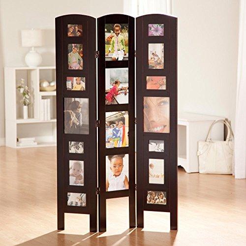Finley Home Memories Photo Frame Room Divider - 3 Panel