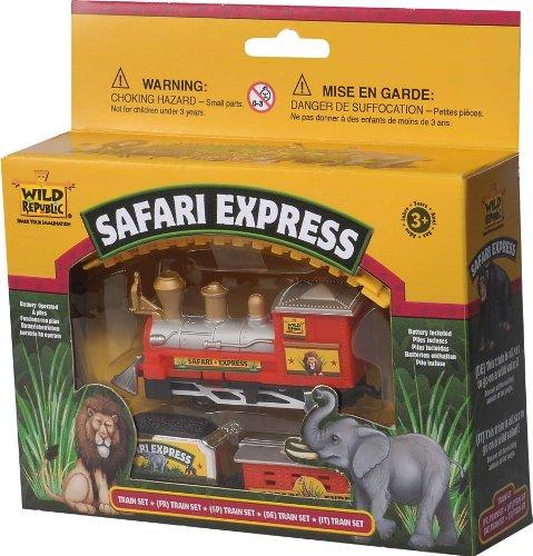 Safari Express - Train - Zoo - 3 ans + - jouets - Wild Republic