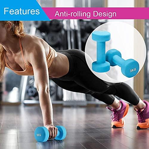 Albott Neoprene dumbbell weights set