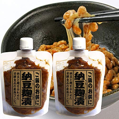 納豆麹漬 200g (納豆麹漬2袋)