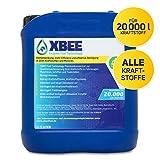 XBEE® All in One Additiv – voll organisches Diesel Additiv & Benzin Additiv für mehr Reichweite und Kostenersparnis/Motorreiniger und Schutz vor Dieselpest für bis zu 20.000l Kraftstoff (5 Liter)