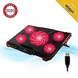 KLIM Cyclone - Refroidisseur Ordinateur Portable - Le Plus Puissant - Refroidissement Ultra Rapide -...