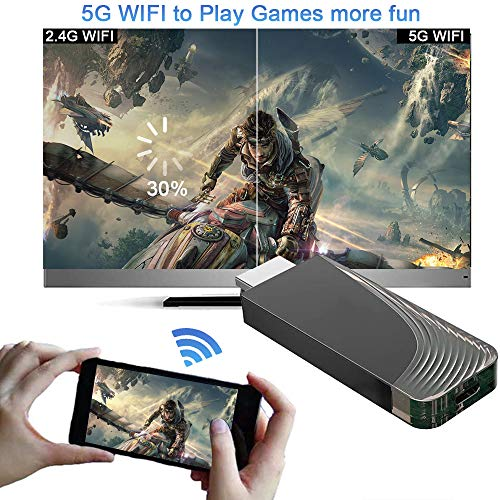 Mac OS /& Windows Laptops WiFi Display Dongle Works with Google Assistant iBosi Cheng Wireless Display Receiver Wireless Audio Receivers Support Full HD 1080P for iOS /& Android Smartphone